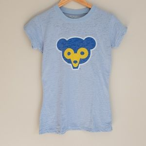 Chicago Cubs Baby Blue T-shirt
